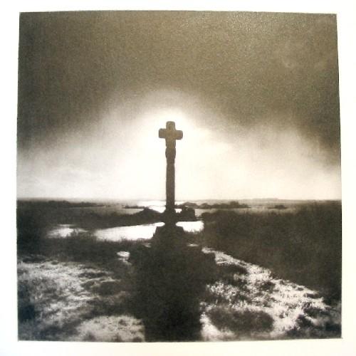 Island Brehat Crucifix (Bromoil)