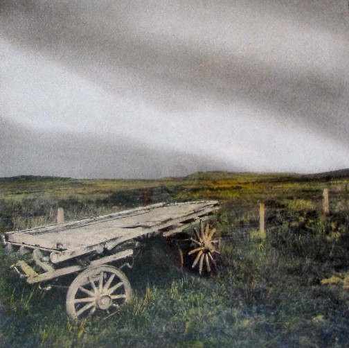 Rustic Hay Cart on Skye